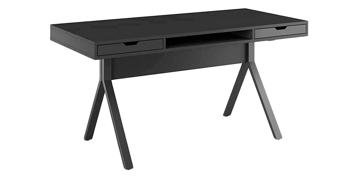 Charcoal Stained Ash | BDI Modica Desk