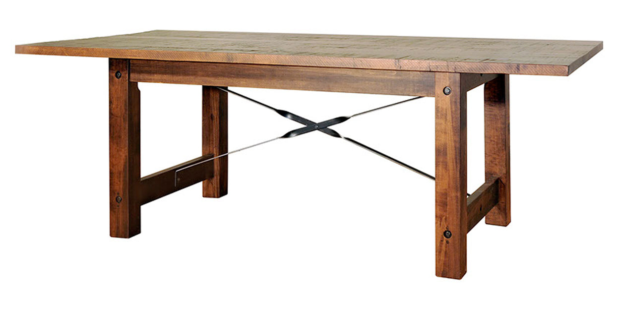 Goudy Golden Oak | Ruff Sawn Beam Table