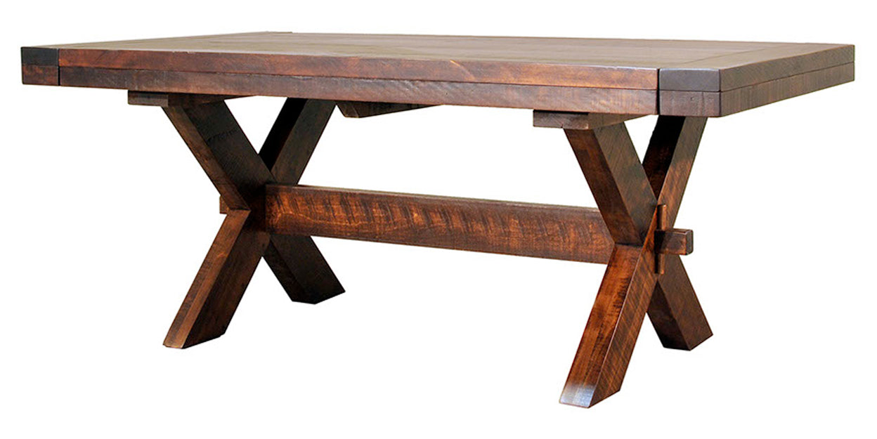 Goudy Golden Oak | Ruff Sawn Buxton Table