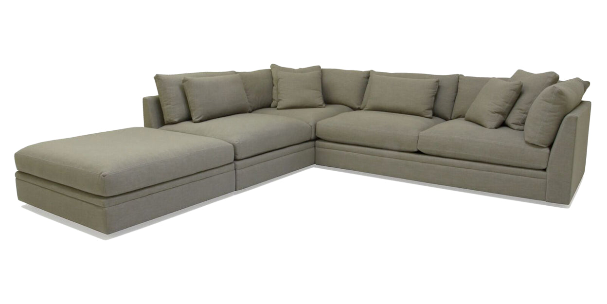 Devote Moss | Camden Big Easy Sectional