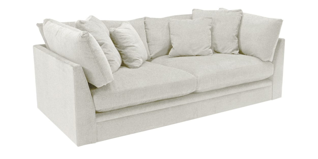 Nordic Fabric Frost | Camden Big Easy Sofa | Valley Ridge Furniture