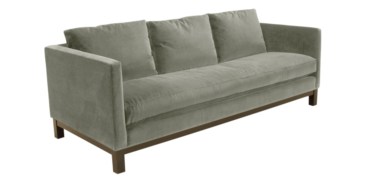 View Fabric Grey | Camden Harper Sofa | Valley Ridge Furniture