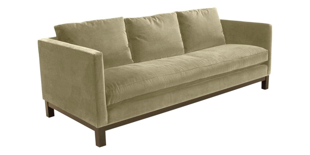 View Fabric Wheat | Camden Harper Sofa | Valley Ridge Furniture