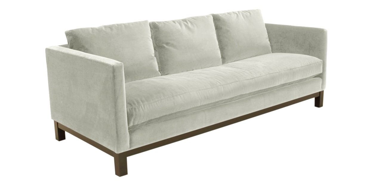 View Fabric White | Camden Harper Sofa | Valley Ridge Furniture