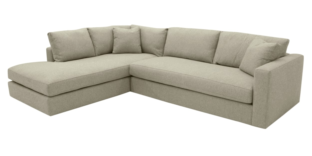 Taft Fabric Cement | Camden Maude Sectional | Valley Ridge Furniture
