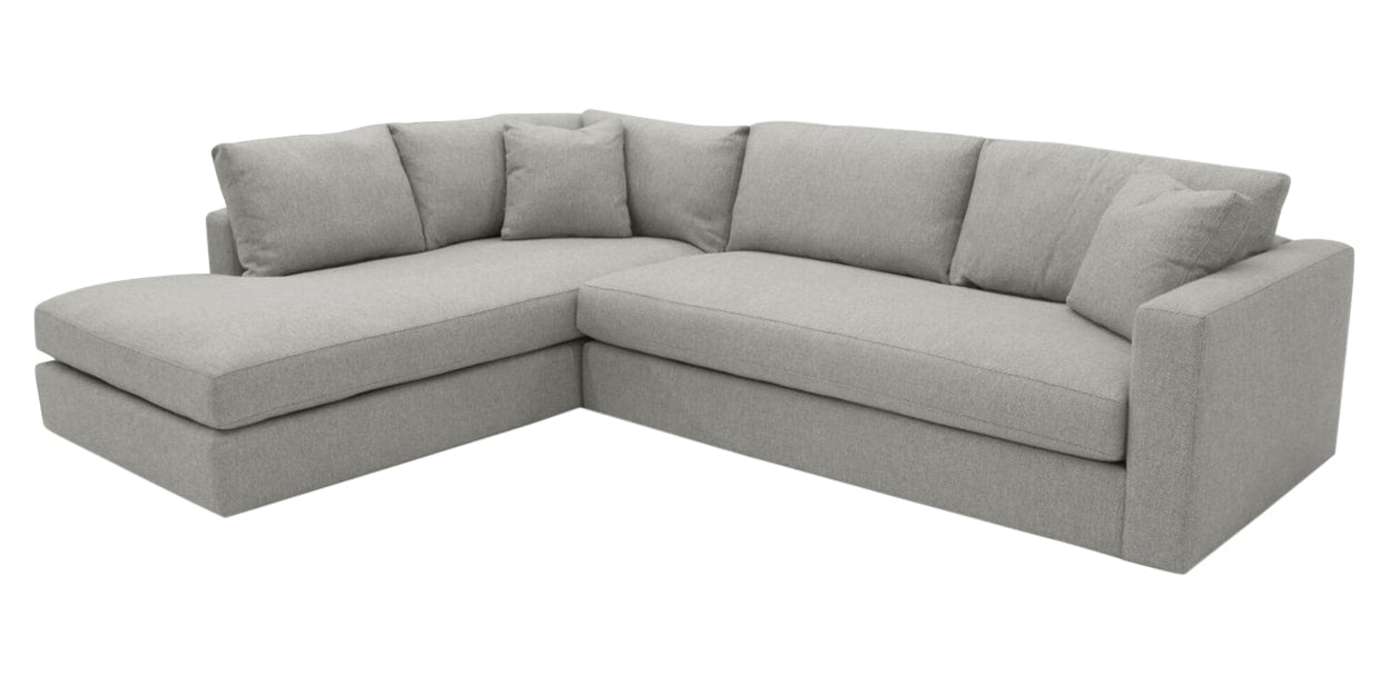 Taft Fabric Pearl | Camden Maude Sectional | Valley Ridge Furniture