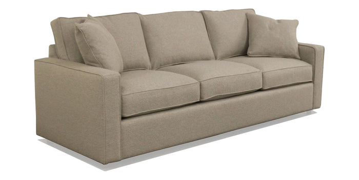 Nubby Cement | Camden York Sofa