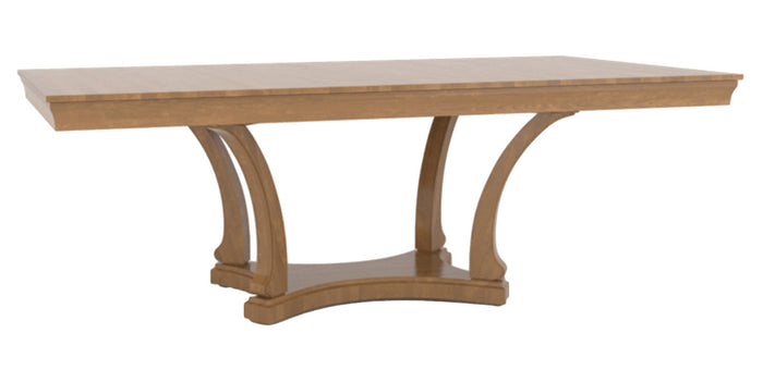 Honey Washed | Canadel Contemporary Dining Table 4288
