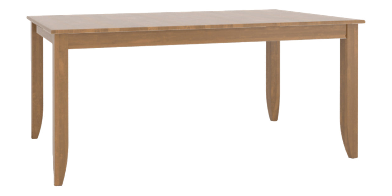Honey Washed | Canadel Core Dining Table 3868 with EE Legs
