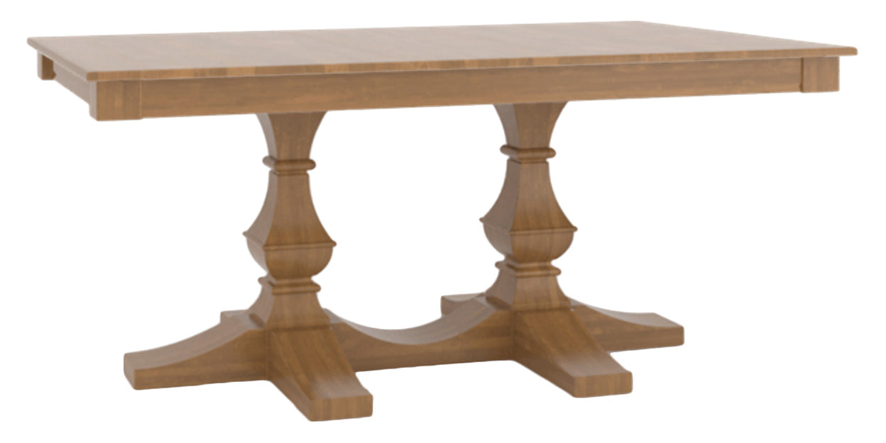 Honey Washed | Canadel Core Dining Table 3868 with TP Base