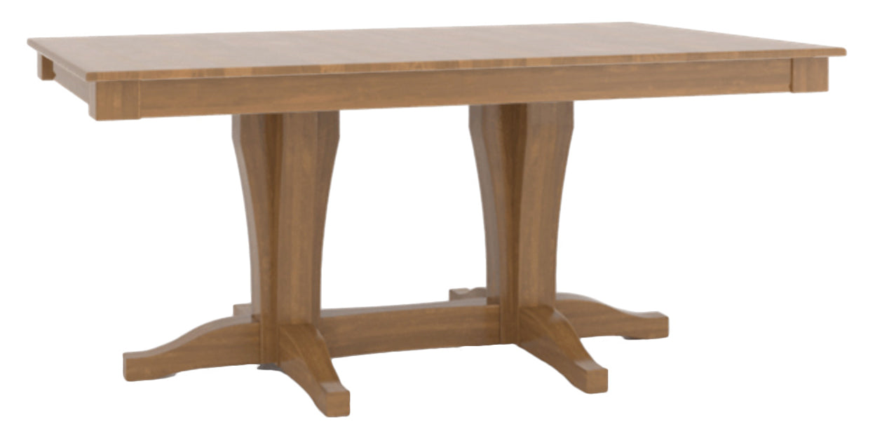 Honey Washed | Canadel Core Dining Table 3868 with XC Base