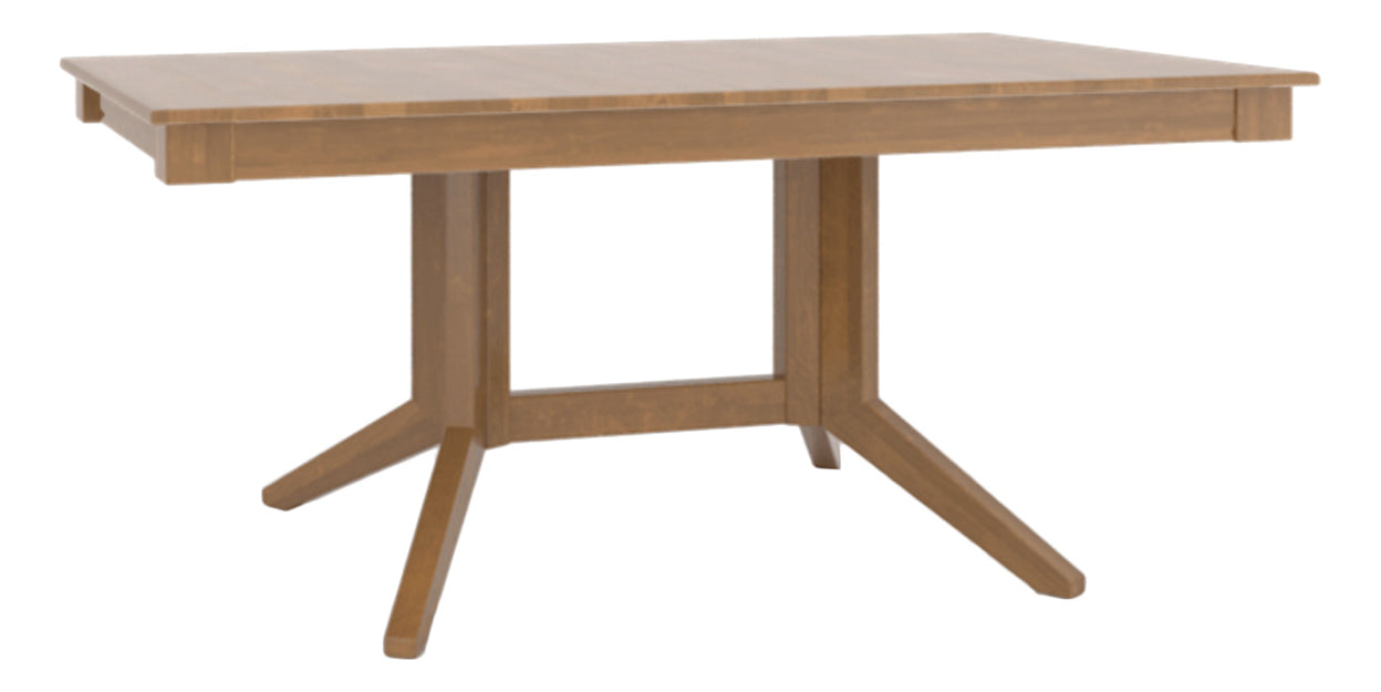 Honey Washed | Canadel Core Dining Table 3868 with XQ Base