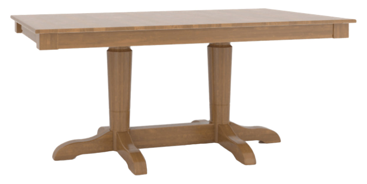Honey Washed | Canadel Core Dining Table 3868 with YY Base