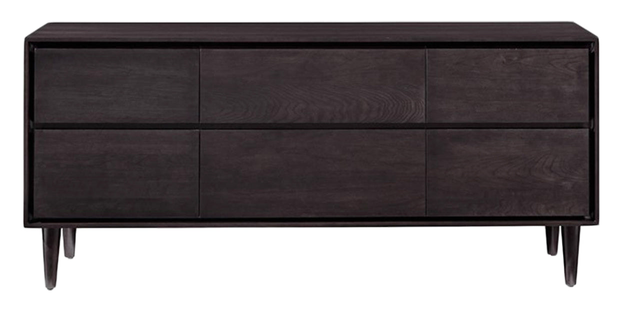 Graphite | West Bros Jensen 6 Drawer Dresser