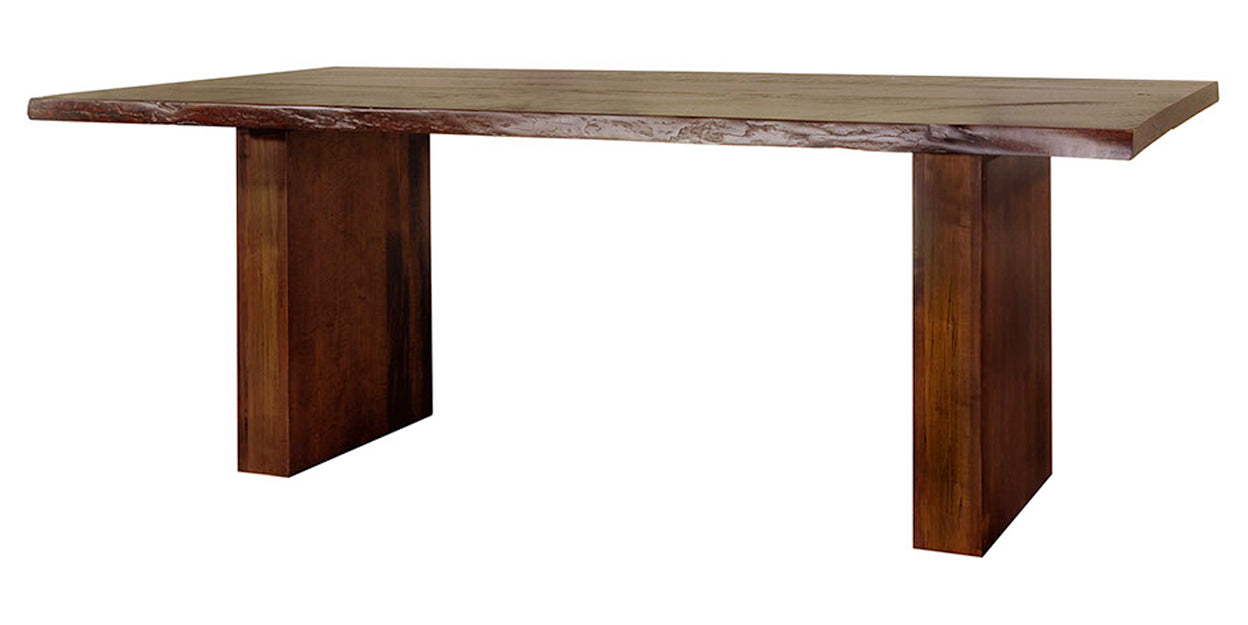 Goudy Golden Oak | Ruff Sawn Live Edge Table