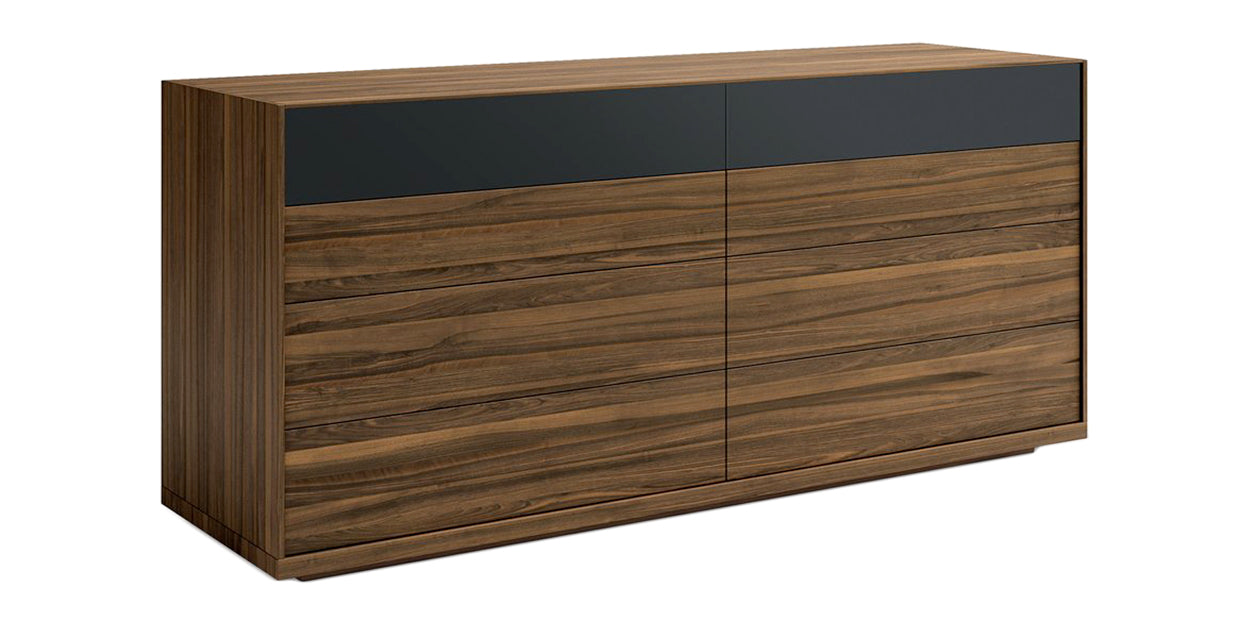 Smoked Walnut | Mobican Mimosa Double Dresser