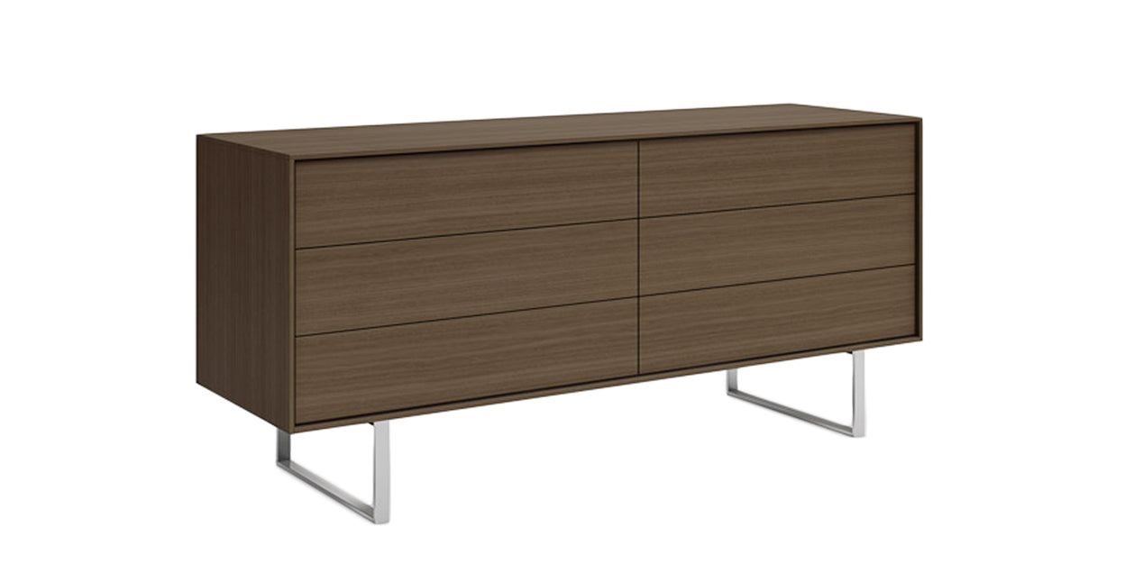 Grey Oak | Mobican Ophelia Low Double Dresser