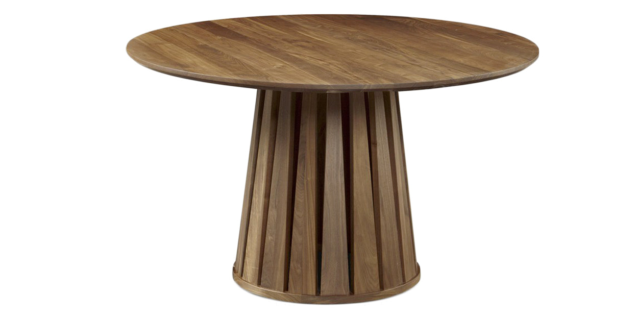"Toast (Natural) | West Bros Phase 50"" Round Pedestal Table"