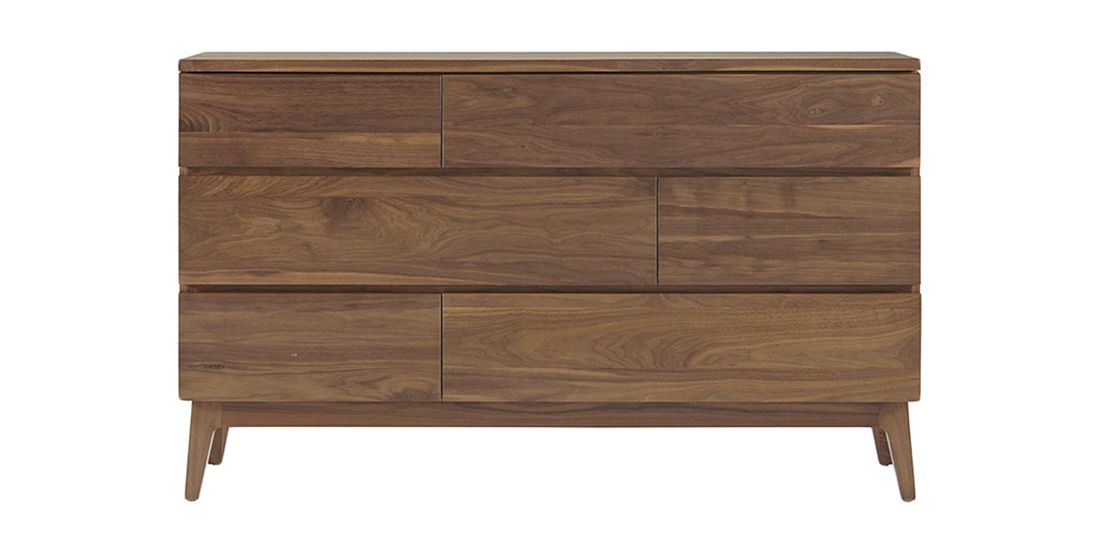 Toast (Natural) | West Bros Serra 6 Drawer Dresser