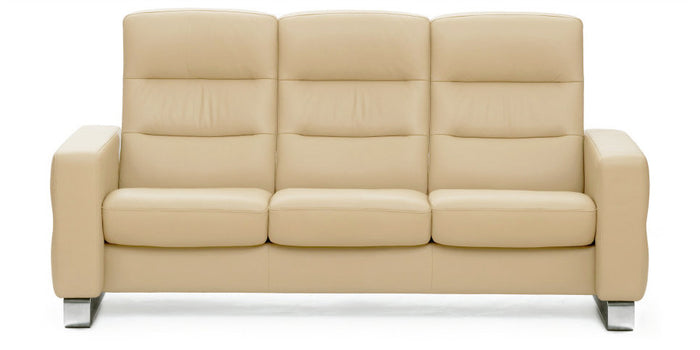 Paloma Camel | Stressless Wave High Back Sofa