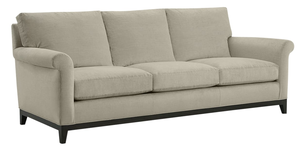 Granbury Fabric Fog | Lee Industries 7583 Sofa | Valley Ridge Furniture