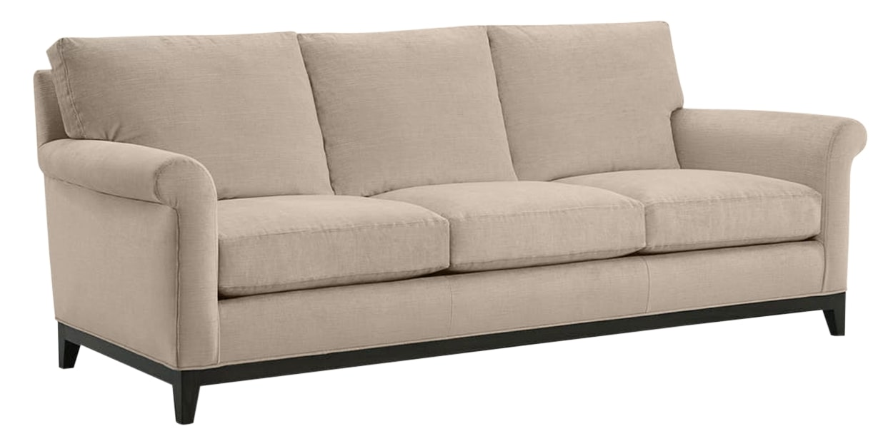 Granbury Fabric Ivory | Lee Industries 7583 Sofa | Valley Ridge Furniture
