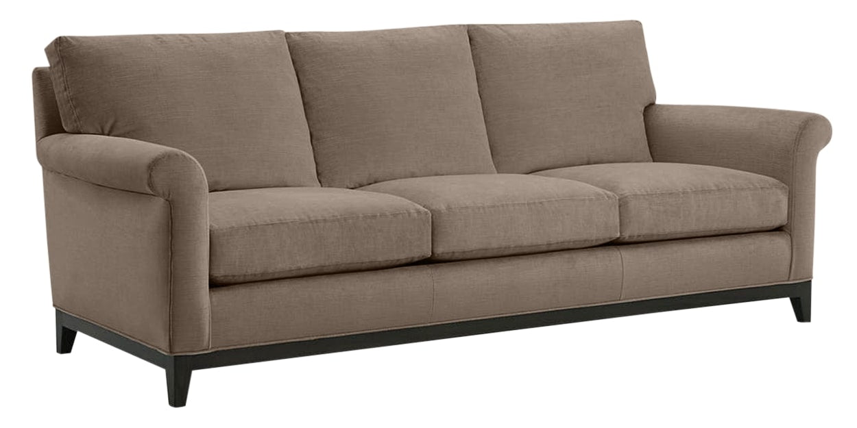 Granbury Fabric Pewter | Lee Industries 7583 Sofa | Valley Ridge Furniture