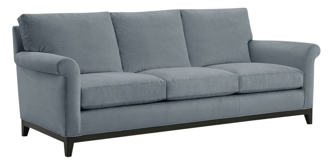 Granbury Fabric Tranquil | Lee Industries 7583 Sofa | Valley Ridge Furniture