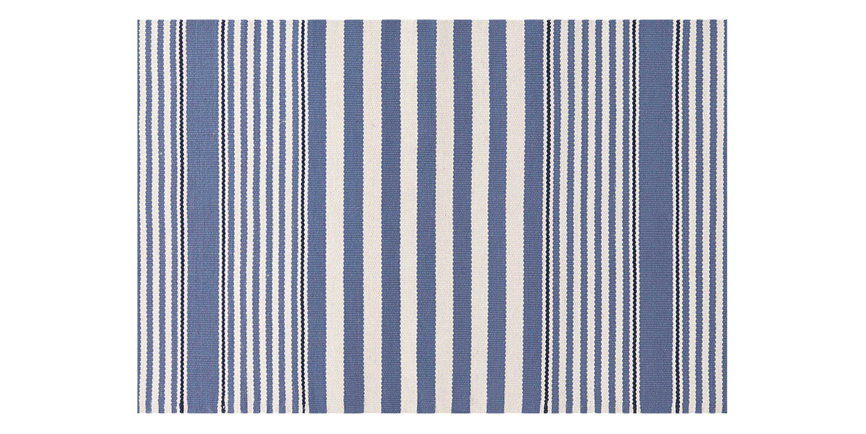 Denim | Dash & Albert Beckham Stripe Rug