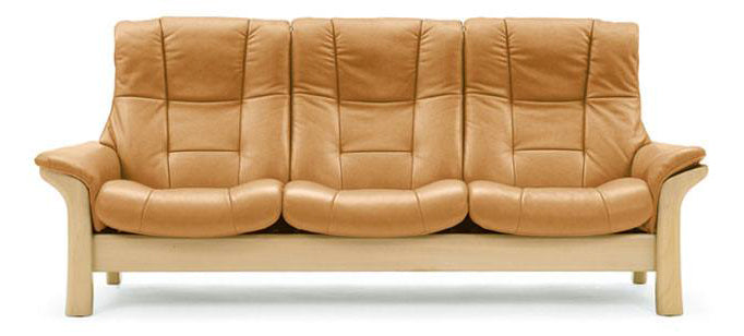 Paloma Taupe | Buckingham 3 Seat High Back Sofa