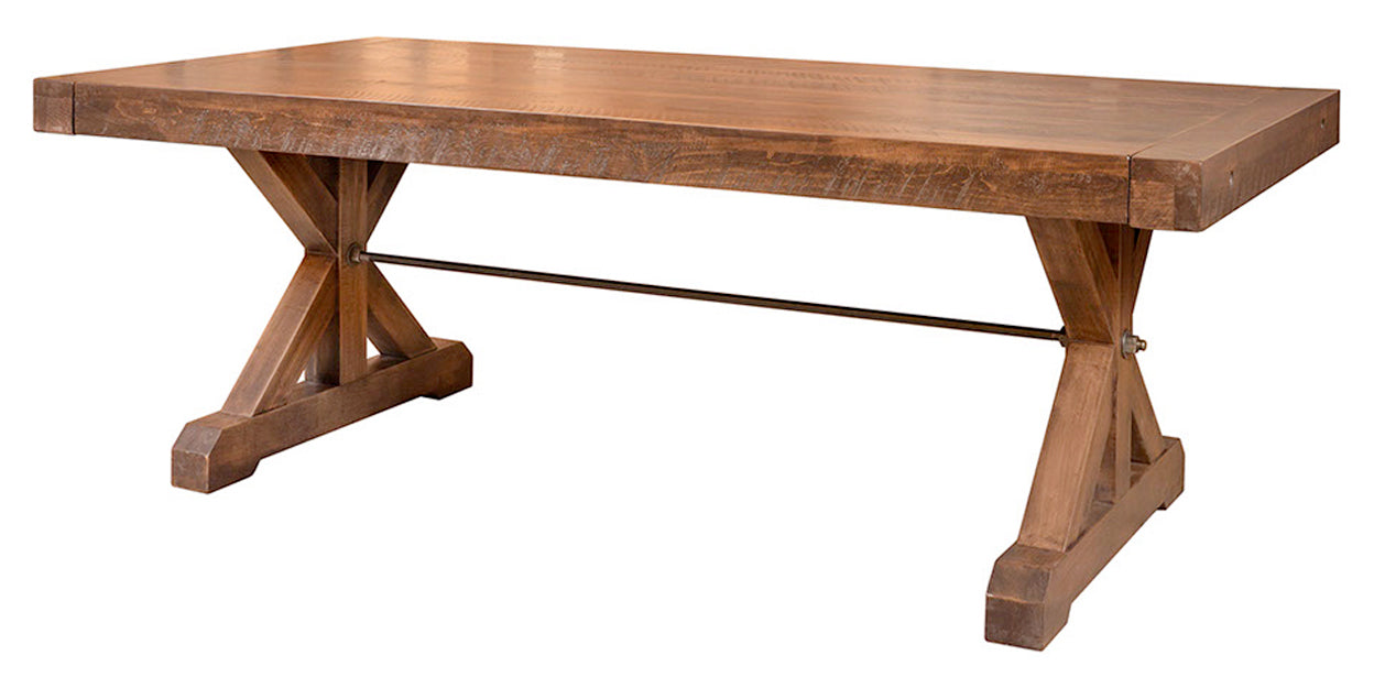 Fruitwood | Ruff Sawn Chesapeake Table