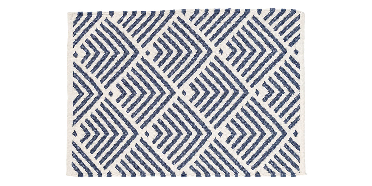 Navy | Dash & Albert Cleo Rug