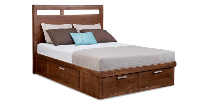 Golden Walnut | Handstone Cordova Condo Bed