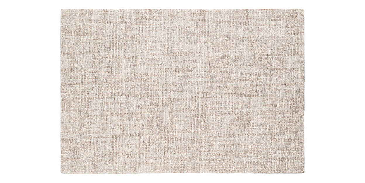Ivory | Dash & Albert Crosshatch Rug