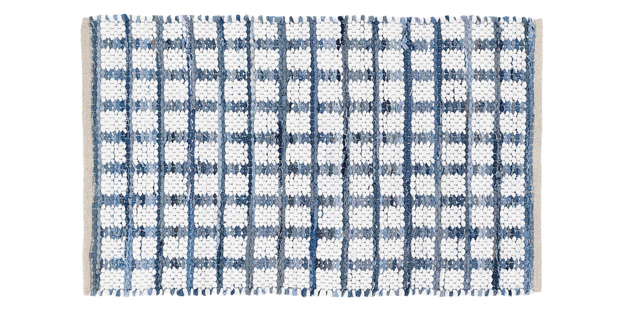 Denim | Dash & Albert Denim Rag Square Rug