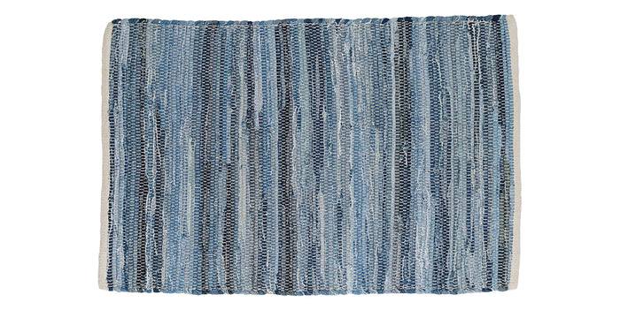 Fine Denim | Dash & Albert Fine Denim Rag Rug