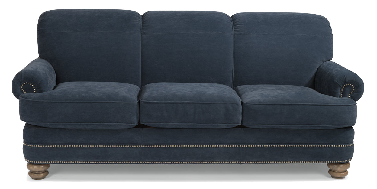 Blue | Flexsteel Bay Bridge Sofa