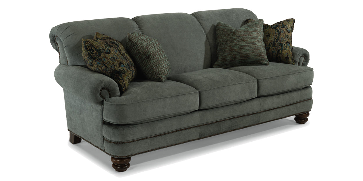 Grey | Flexsteel Bay Bridge Sofa