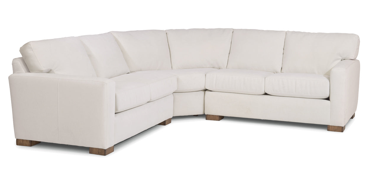 456-11 | Flexsteel Bryant Sectional