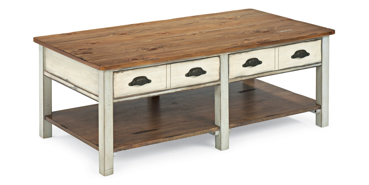 Pine | Flexsteel Chateau Coffee Table