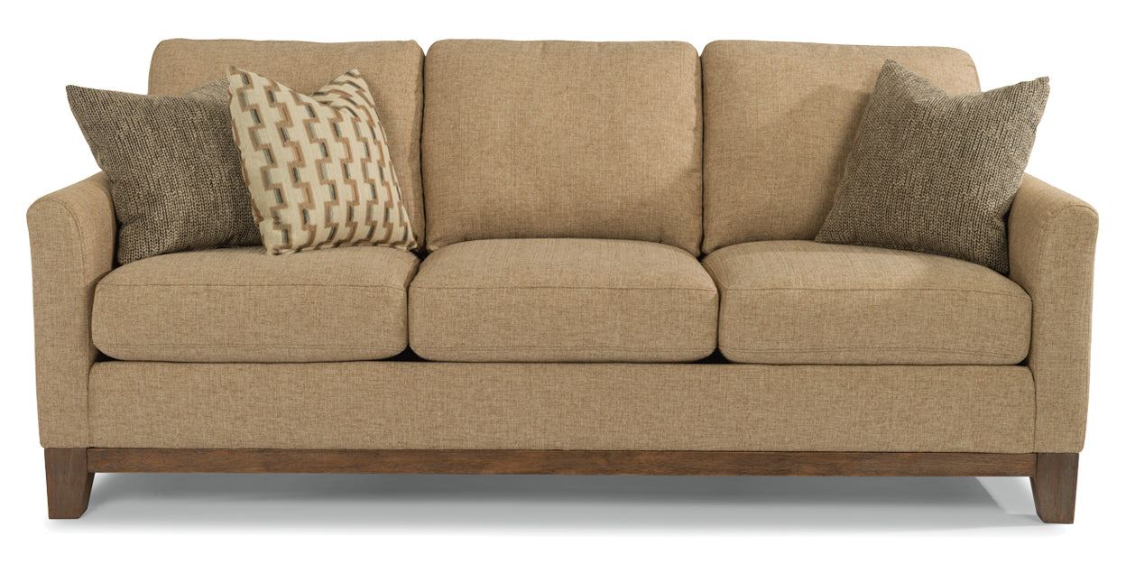 Pewter | Flexsteel Hampton Sofa