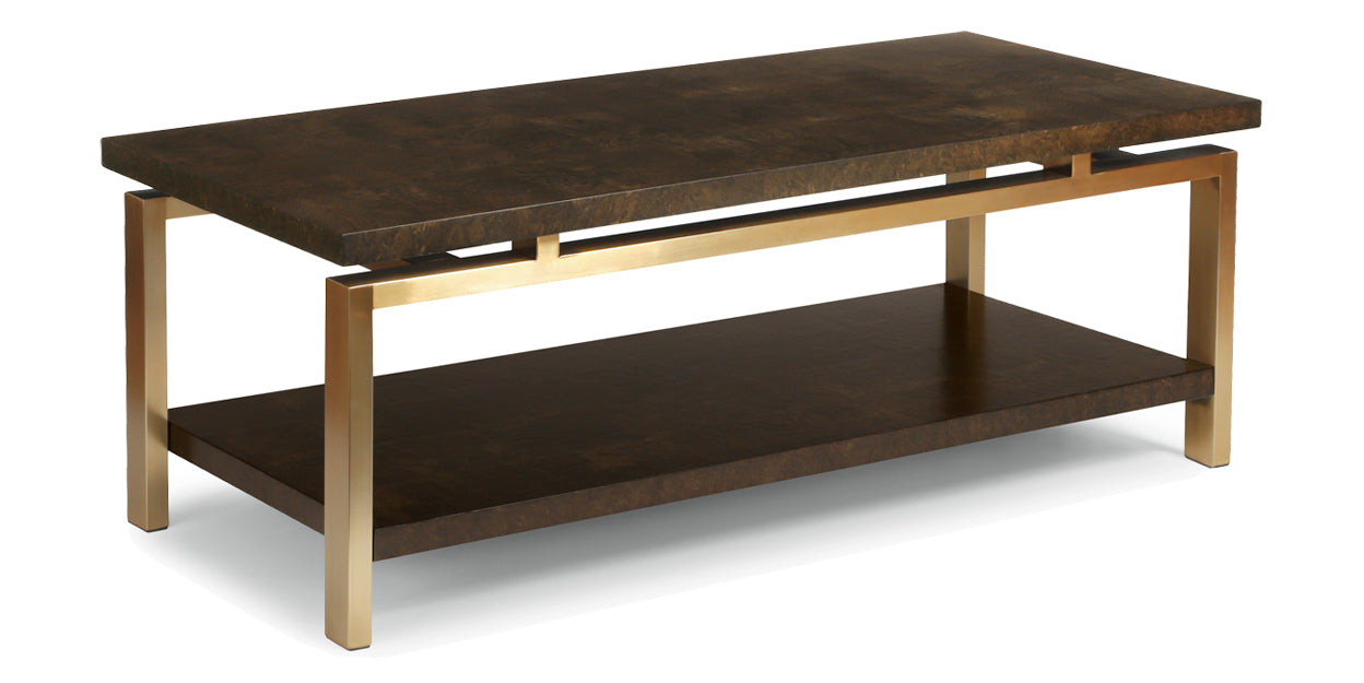 Ash Burl | Flexsteel Maya Coffee Table