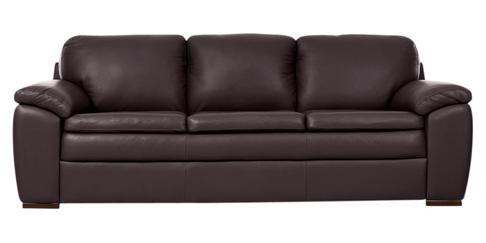 Trend Leather 406 Chocolate | Norwegian Comfort Sorrento Sofa | Valley Ridge Furniture