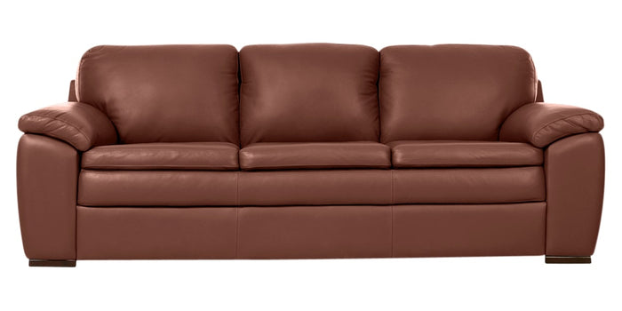 Trend Leather Cognac | Norwegian Comfort Sorrento Sofa | Valley Ridge Furniture