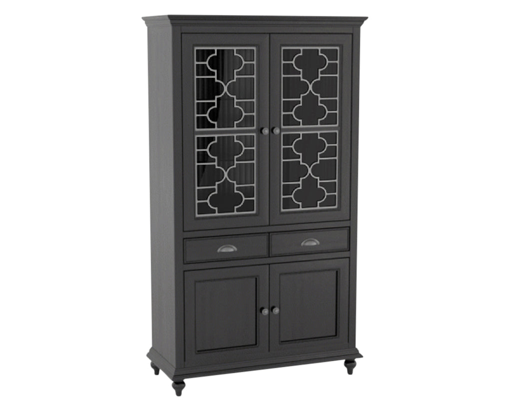 Midnight Black Washed | Canadel Farmhouse Buffet 4172