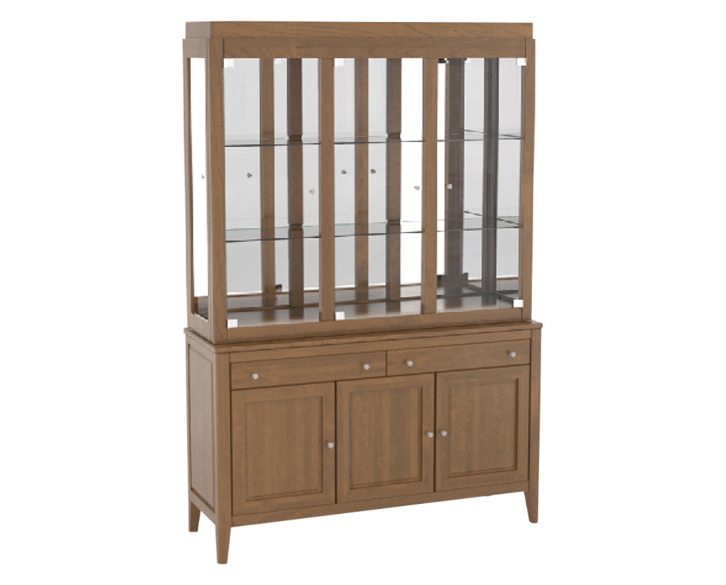 Oak Washed Hutch | Canadel Core Buffet 5400
