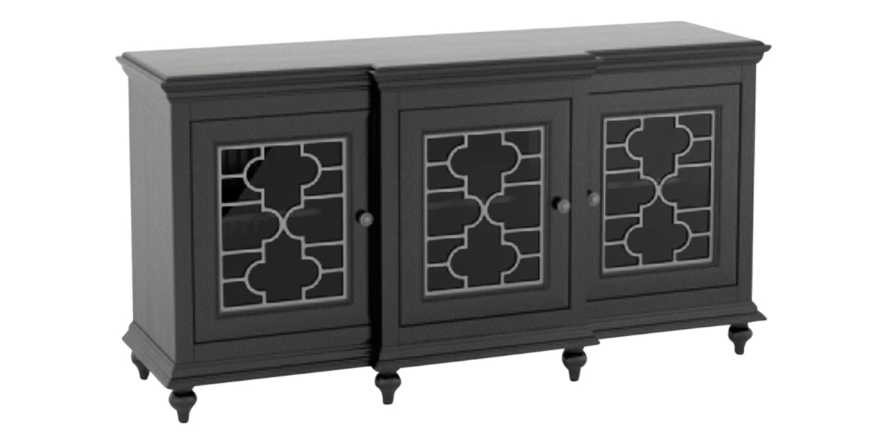 Midnight Black Washed | Canadel Farmhouse Buffet 6232