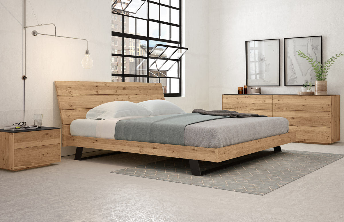 Rustic Oak | Mobican Bella Bed