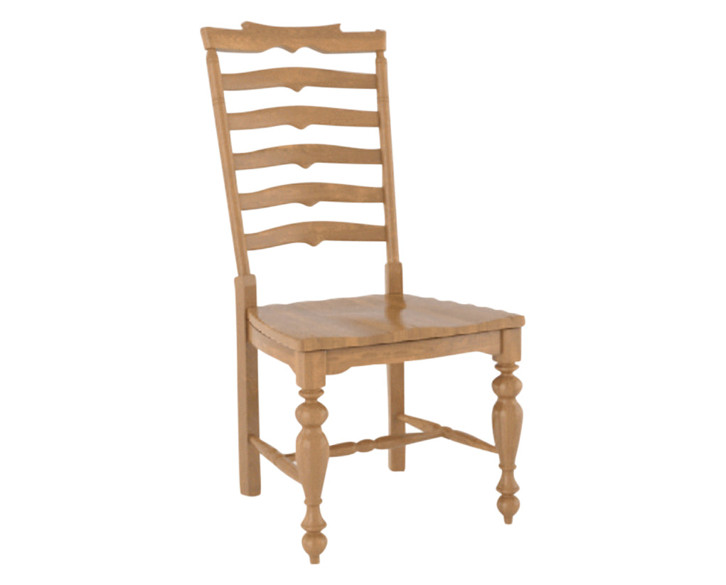 Honey Washed | Canadel Farmhouse Dining Chair 5135