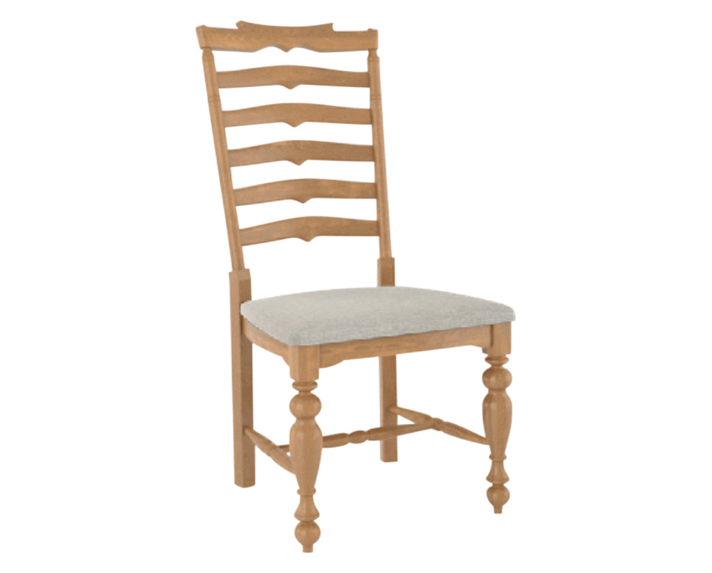 Fabric TB | Canadel Farmhouse Dining Chair 5135
